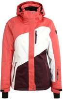Killtec EMIRI Snowboard jacket koralle melange/weiß