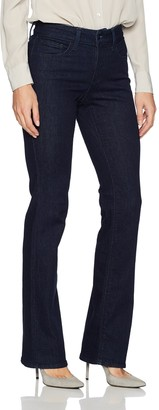 NYDJ Women's Marilyn Straight Jeans with Short Inseam