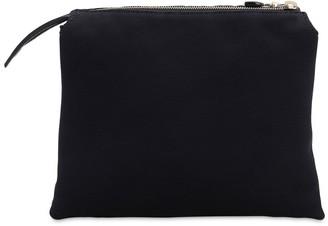 The Row Nu Mini Twin Satin Top Handle Bag