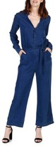 Paige Women's Bronte Chambray Jumpsuit