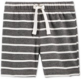 First Impressions Striped Pull-On Shorts, Baby Boys, Only at Macy's