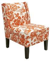 Skyline Furniture Custom Upholstered Wingback Chair