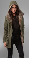 Laura Parka Jacket with Fur