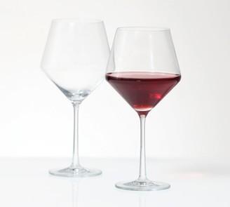 Pottery Barn Schott Zwiesel Pure Burgundy Wine Glasses, Set of 6