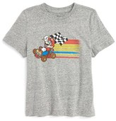 JEM Toddler Boy's Mario Kart Fast Kart Graphic T-Shirt