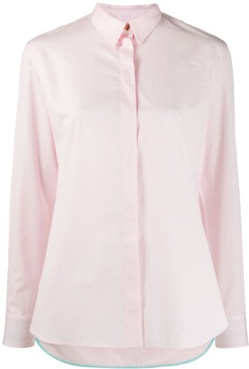 Paul Smith Concealed Placket Fitted Shirt