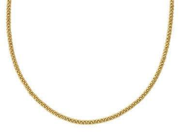 """Lagos 3mm 18K Gold Caviar Rope Necklace, 16""""L"""