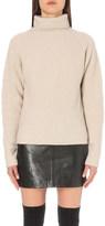 Maje Margo wool-blend jumper