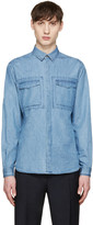 Valentino Blue Denim Shirt