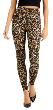 INC International Concepts Inc Leopard-Print Compression Leggings, Created for Macy's