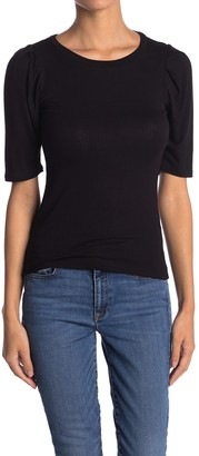 Know One Cares Puff Half Sleeve Top