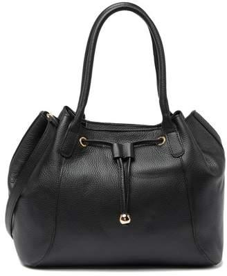 Persaman New York Fabia Leather Crossbody Bag