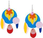 Christopher Kane sequin earrings