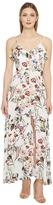 Brigitte Bailey Aileen Spaghetti Strap Button Up Maxi Dress Women's Dress