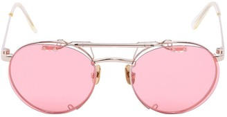 Dancing Shoes Clip-on Pink Sunglasses