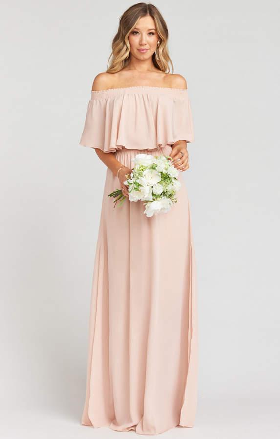 d3f33e2e13a48d Strapless Tube Maxi Dress - ShopStyle