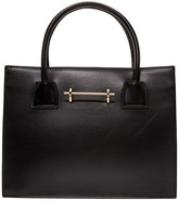 M2Malletier Black Leather Mini Tote