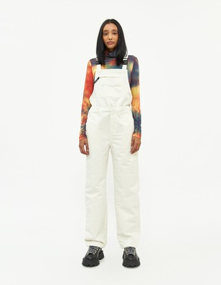 Stussy Women's Terrian Convertible Overall in Cream, Size Extra Small
