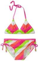 Gossip Girl 7-16 Popsicle Stripe 2 Piece Bikini