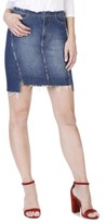 Paige Women's Ilana Step Hem Denim Miniskirt