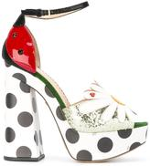 Charlotte Olympia daisy sandals