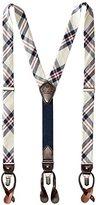 Tommy Hilfiger Men's 30mm Plaid Fabric Suspender