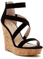 Charles by Charles David Alexa Platform Wedge Sandal