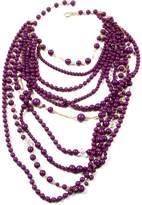 Amrita Singh Prince Street Necklace Purple
