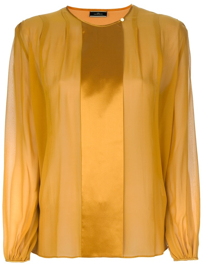 By Malene Birger front panel blouse
