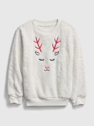 Gap Kids Coziest Reindeer Shirt