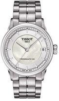 Tissot Ladies Luxury Silvertone Watch