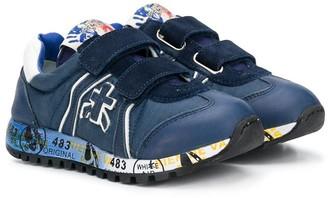 Premiata Kids Lucy-BV touch-strap sneakers