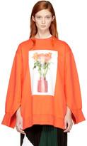 Ports 1961 Orange Flowers Sweatshirt
