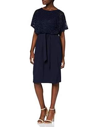 Yumi Lace And Ponte Dress With Kimono Sleeves