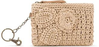 The Sak Crochet Iris Card Wallet