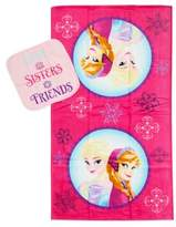 "Disney Frozen"" Snowflakes 2-Piece Towel and Washcloth Set"