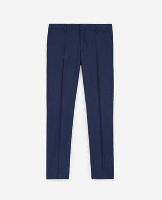 The Kooples Navy blue suit trousers in wool