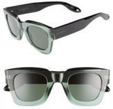 Givenchy Women's 48Mm Square Sunglasses - Dark Havana