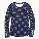 New Balance for J.Crew in-transit long-sleeve T-shirt in polka dot