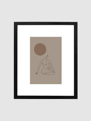 """Spacey Studios """"The Beauty of Rebirth"""" Framed Print"""