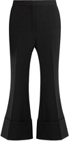 Stella McCartney Mid-rise kick-flare wool-blend trousers