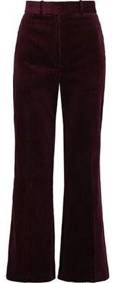 Sandro Cotton-corduroy Bootcut Pants