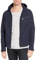 John Varvatos Men's Tonal Camo Print Hooded Jacket