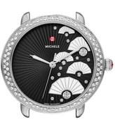 Michele 'Serein 16 Diamond' Diamond Fan Dial Watch Case, 36mm x 34mm