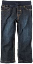 Carter's Toddler Boy Ribbed Waist Midtier Jeans