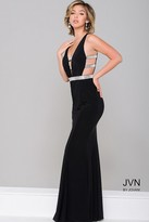 Jovani Cut out Sleeveless Jersey Dress JVN45578