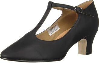 "Bloch Women's Chord T-Bar Strap 2"" Dance Shoe"