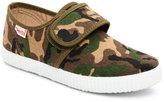 Cienta Kids Boys) Camo-Print Velcro Sneakers