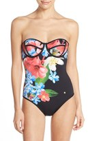 Ted Baker 'Forget Me Not' Underwire One-Piece Swimsuit
