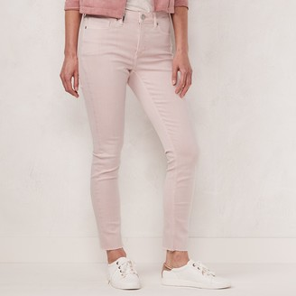 Lauren Conrad Petite High-Rise Skinny Ankle Jeans